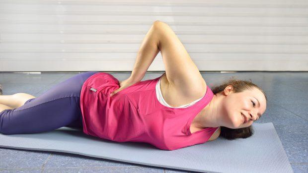 Mal di schiena dopo yoga