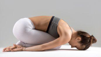 Yoga per dormire: Balasana