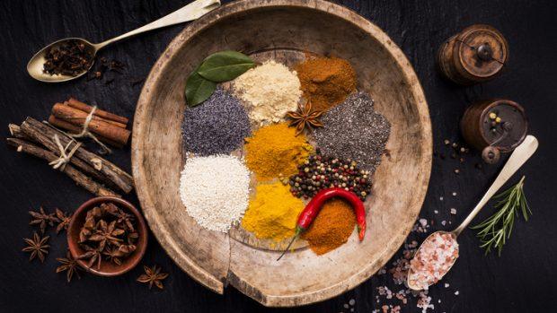Spezie: concentrati di vitamine, minerali e antiossidanti a zero calorie