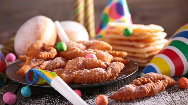 assorted carnival donut and decoration