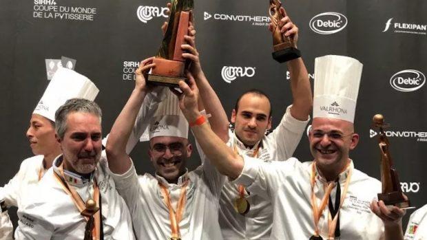 Italia campione del mondo di Pasticceria 2021